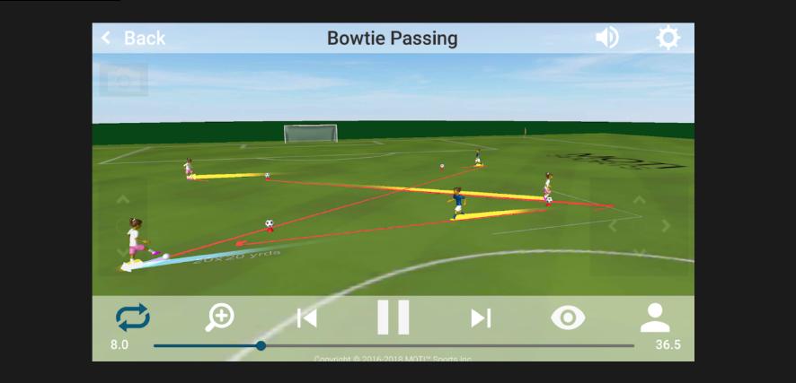 3D Soccer Drills